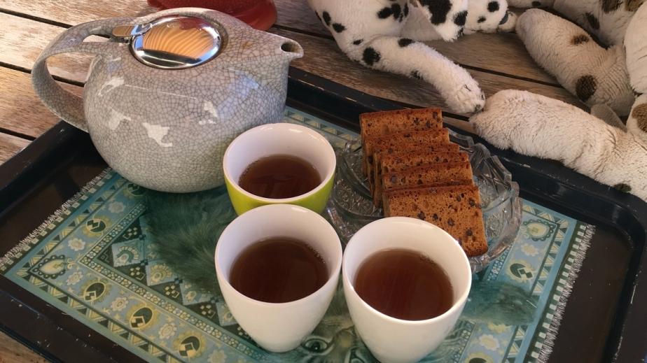 Tee trinken – Tag3